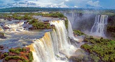 SOUTH AMERICA - NATURAL WONDERS OF CHILE AND ARGENTINA